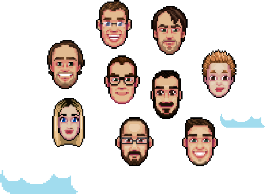 pixel avatars about us vAudience